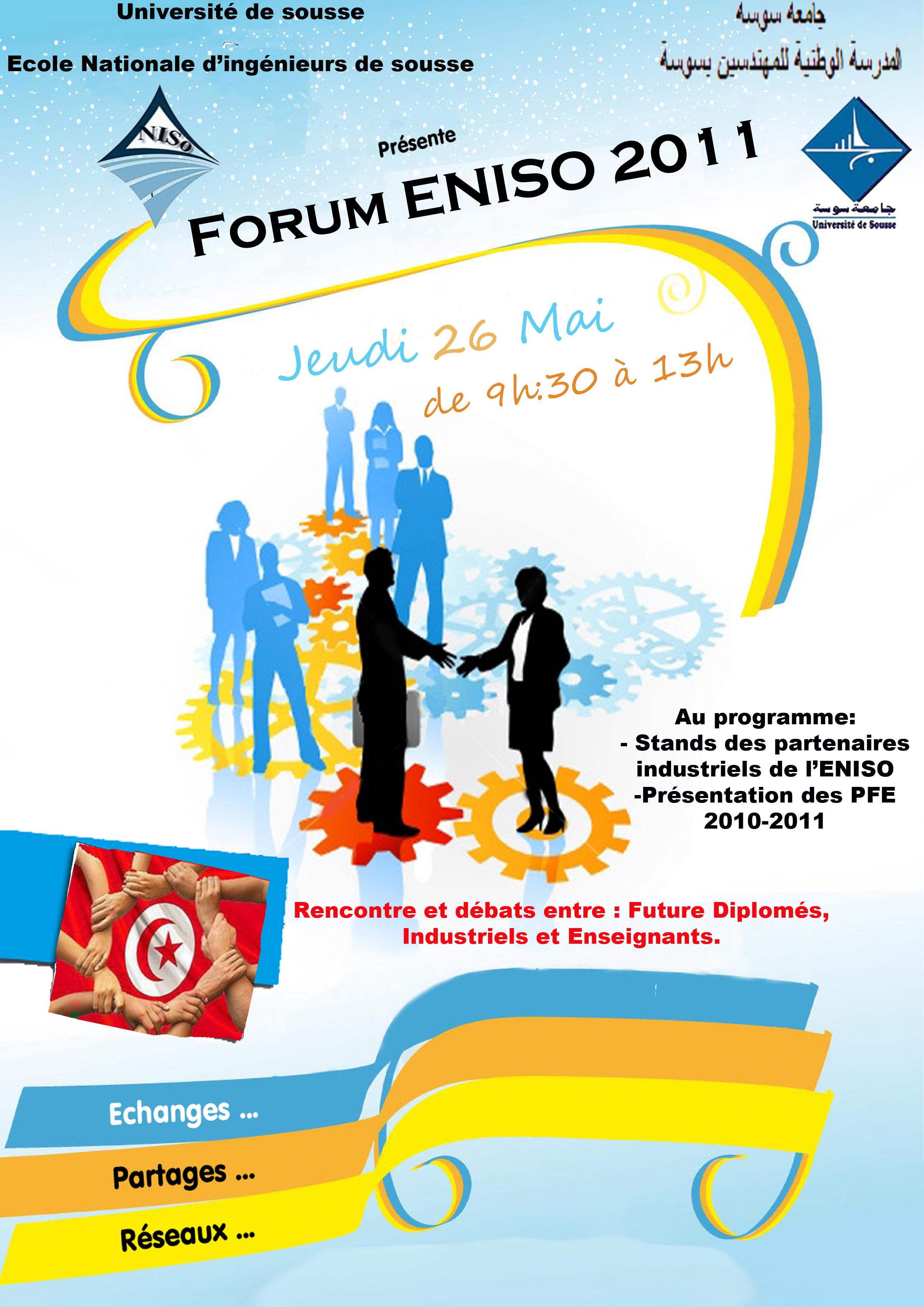 5  5  2011   forum eniso 2011